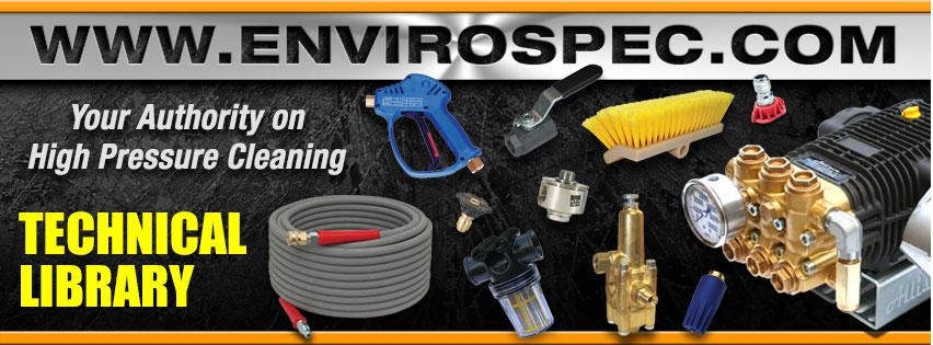 EnviroSpec Pressure Wash Technical Library