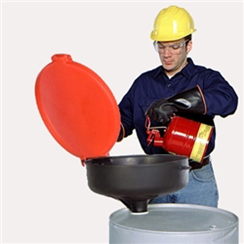 large 55 gallon drum funnel with lid